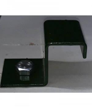 Aviary floor clamp