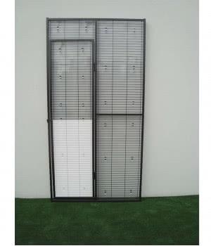 Rigid PVC panel at the...