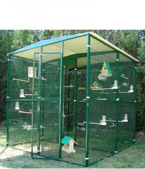 Garden aviary 4m2 (centre...