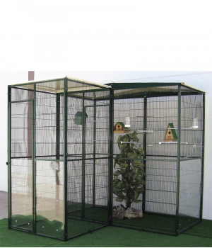 Garden aviary 3m2 with...