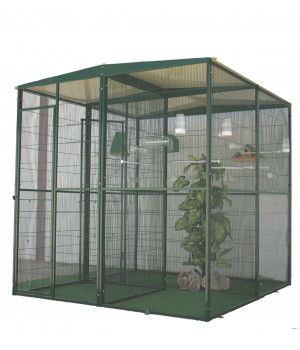 Garden aviary 4m2 with...
