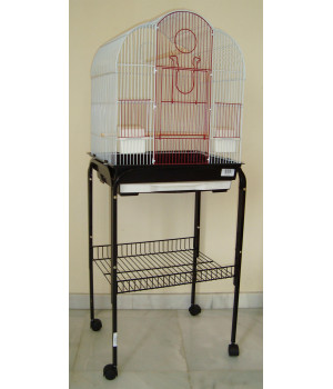 Bird cage and stand set...