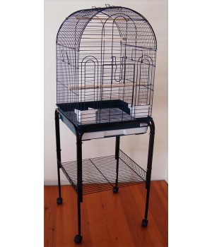 Set bird cage and stand set...