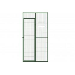 Aviary mesh panel with door