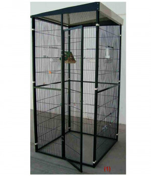 Garden aviary 1m2 with...