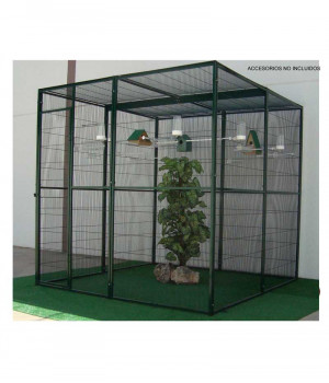 Interior aviary of 4m2 with...