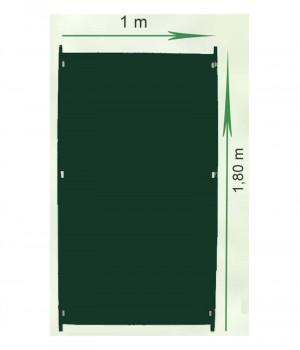 Opaque panel 1,80x1m