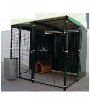 Kennel with roof 2x2 metres