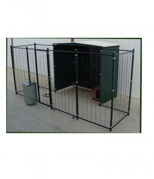 2 slope roof kennel with...