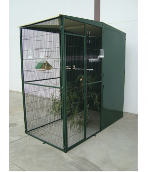 Garden aviary 2m2 with 3...