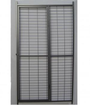 Panel with door 1,80x1m